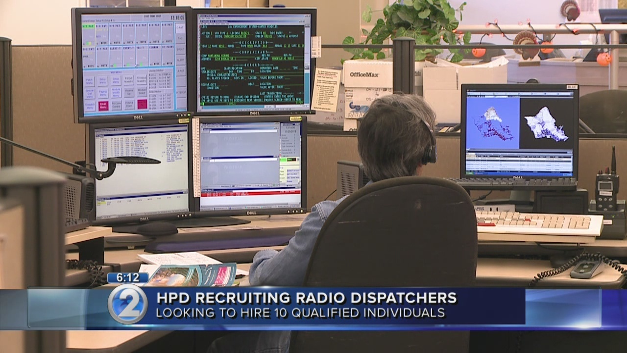 Honolulu police to hire radio dispatchers khon thecheapjerseys Image collections