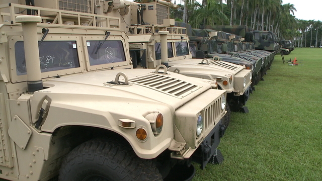 Critical military training throughout February may be noisy