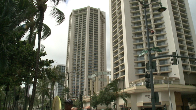 Occupancy rates at Hawaii hotels decline