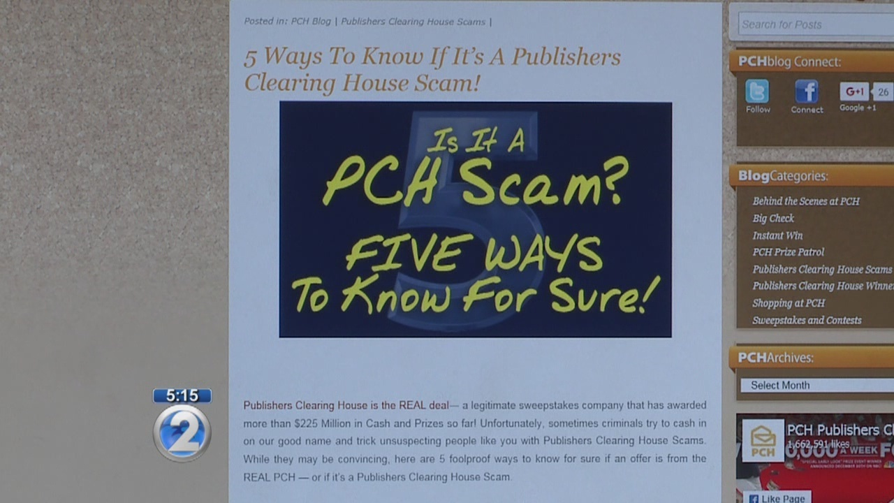 Scammers posing as Publishers Clearing House target Hawaii families
