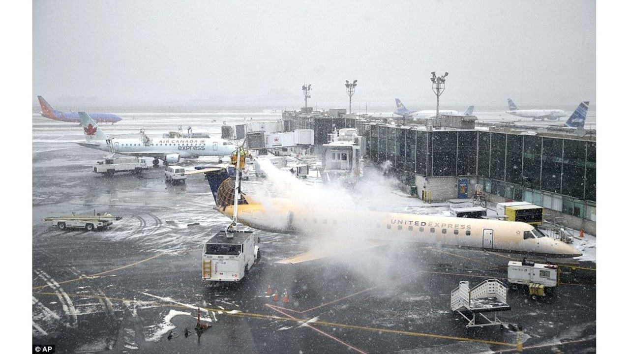 Harsh winter weather causes cancellation of Hawaiian Airlines New ...