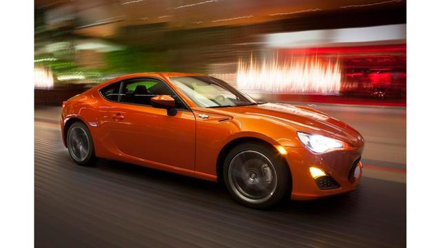Toyota Recalls Scion FR S Sports Cars For Ignition Key Problem