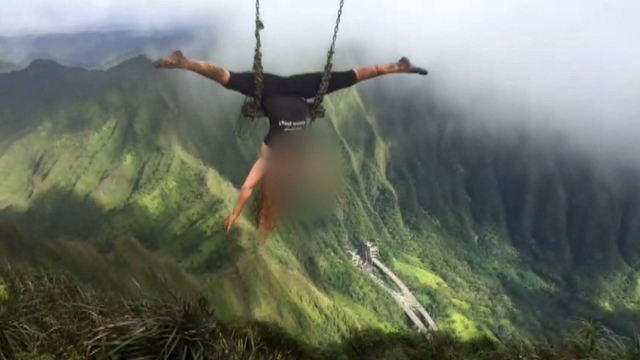 Illegal Haiku Stairs Swing Will Come Down But Others Exist Across Oahu