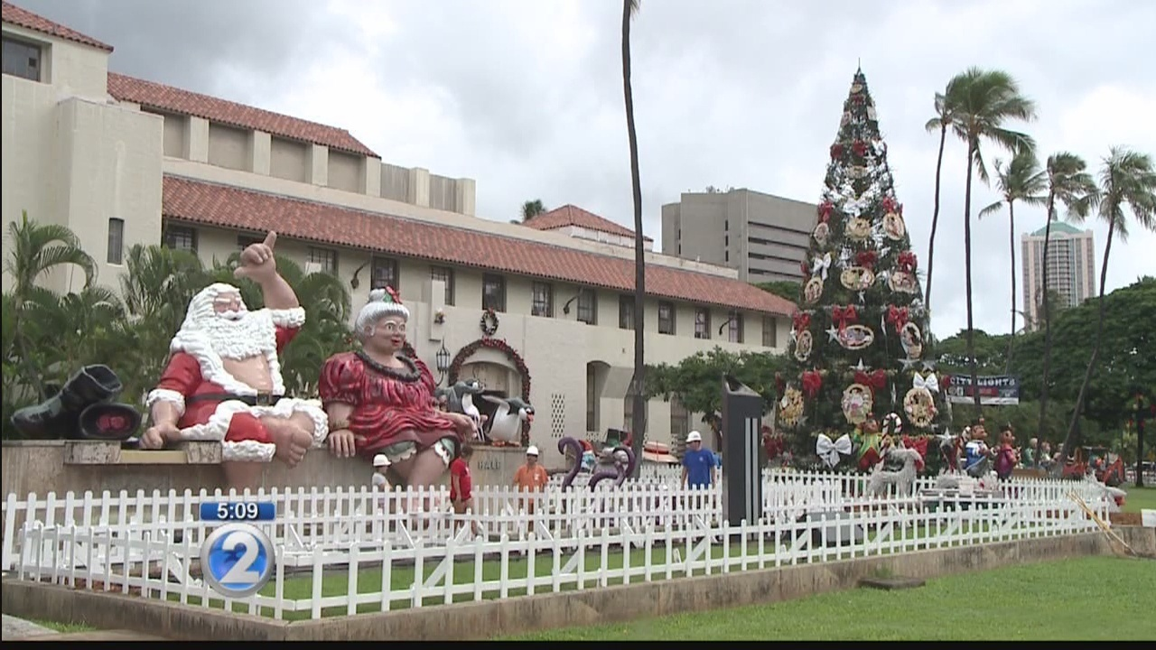 2016 Honolulu City Lights to open with parade, concert