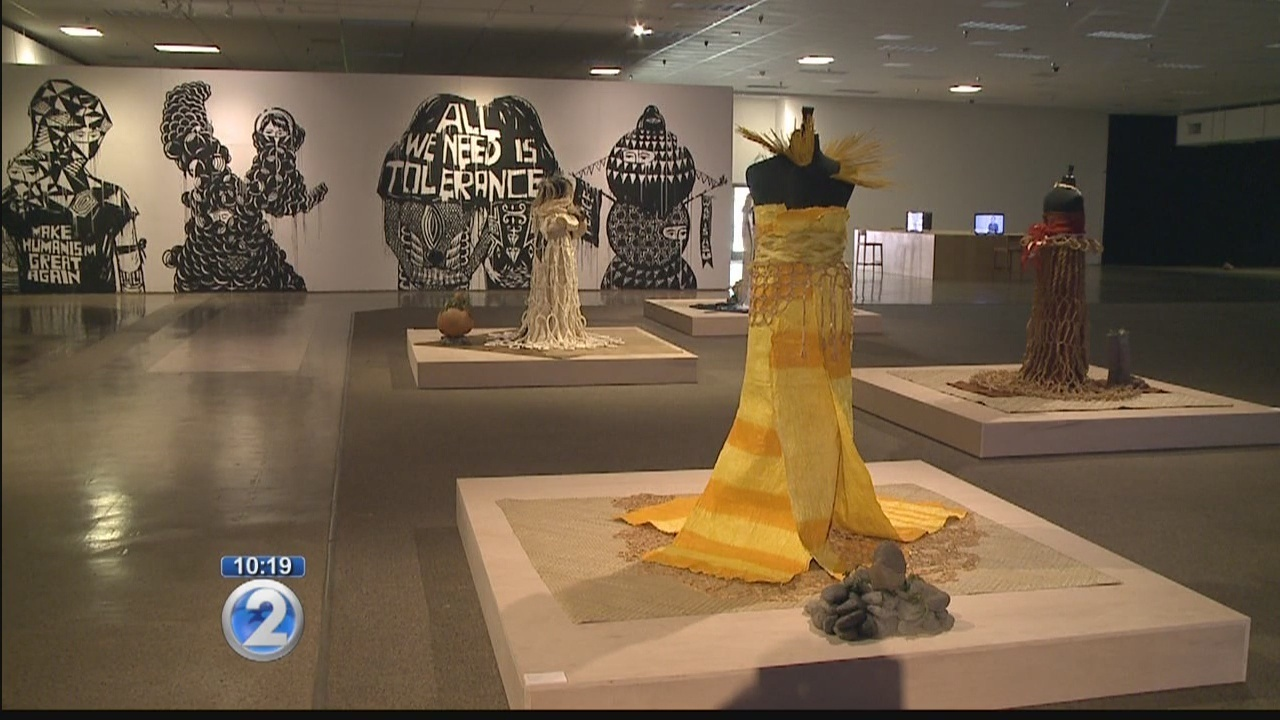 Contemporary art fills former Sports Authority building for Honolulu ...