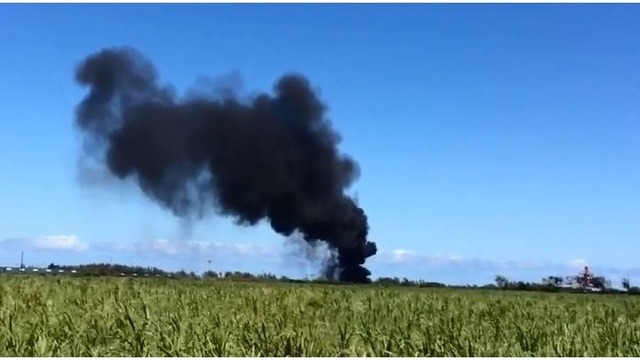 Fire training triggers cloud of black smoke at Kahului Airport