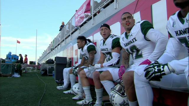 Rainbow Warriors fall at UNLV
