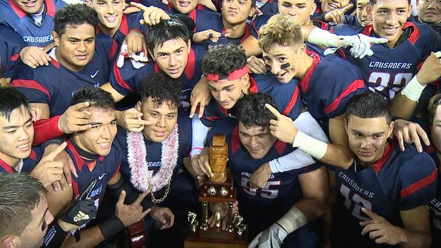 Saint Louis, Lahainaluna finish 2017 at the top of Cover2 State Rankings