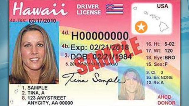 changes coming to hawaii drivers licenses and id cards