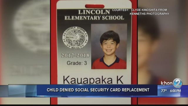 Boy denied social security card due to complications with long ...