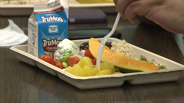 open lunches in high school