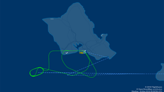 United Airlines flight to San Francisco diverted back to Honolulu