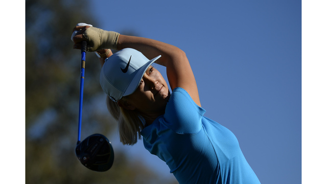Pernilla Lindberg takes three-shot lead at ANA Inspiration