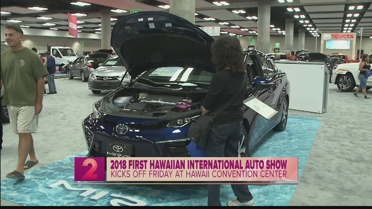 First Hawaiian International Auto Show To Feature New Exotic Cars - Car show hawaii