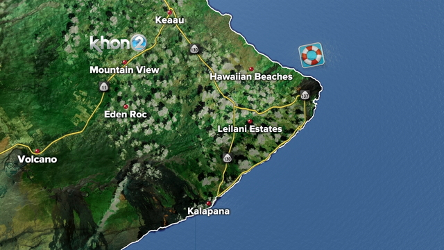 Hawaii Island police identify man swept into ocean after reportedly fleeing from officers