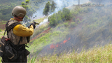 Scheduled prescribed burn: Army officials taking action to prevent brush fires