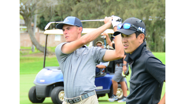Cyr, Grant, AND Telles tied for lead at 2018 Mid-Pacific Open