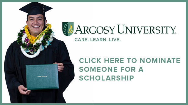 Nominate someone for a scholarship to Argosy University, Hawaii