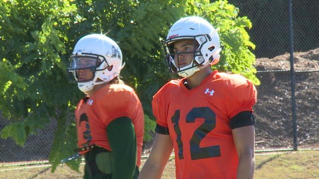'Bows QB battle down to two as Cordeiro and McDonald 'slashed right now on the depth chart'