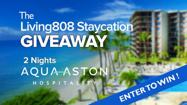 The Living808 Staycation Giveaway