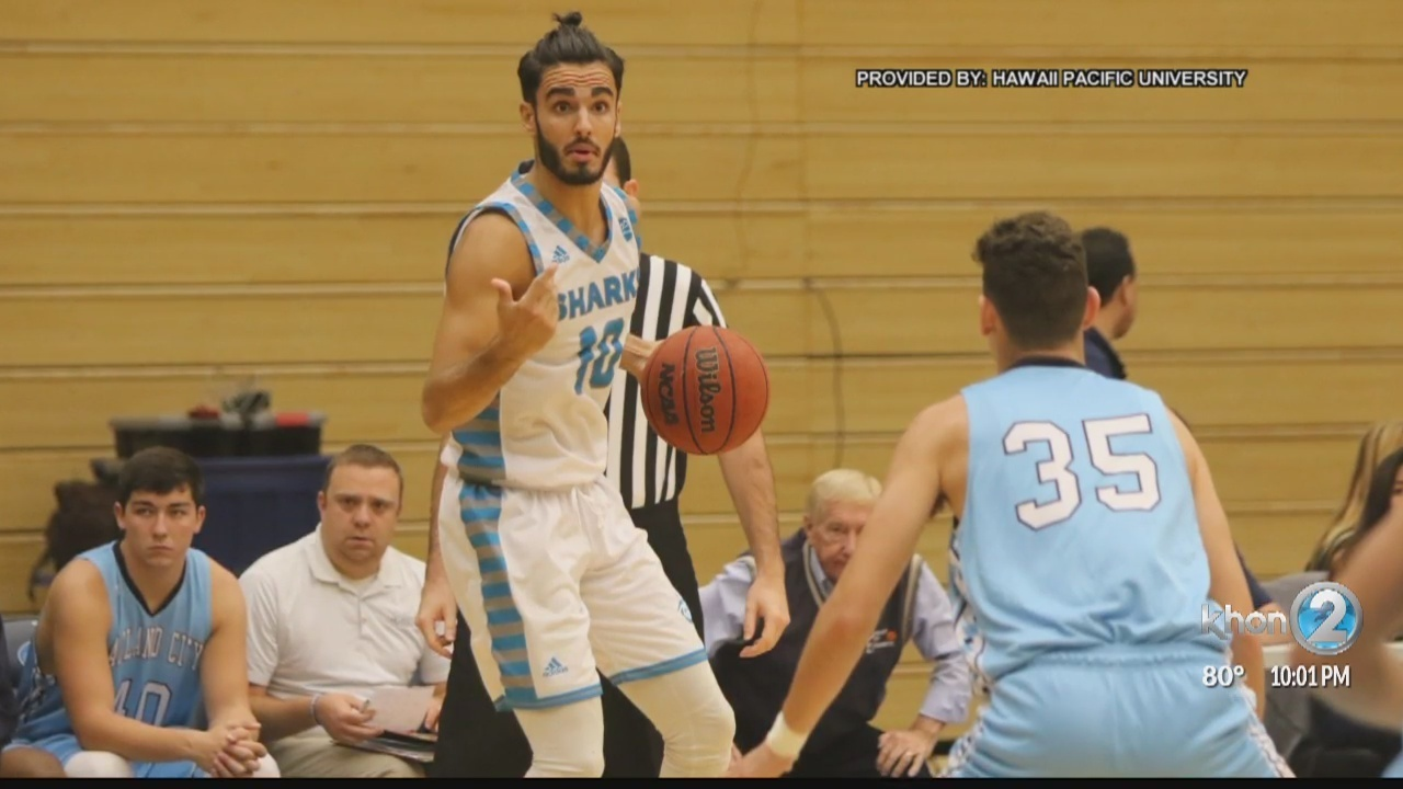 hpu men s basketball player dies after collapsing during game
