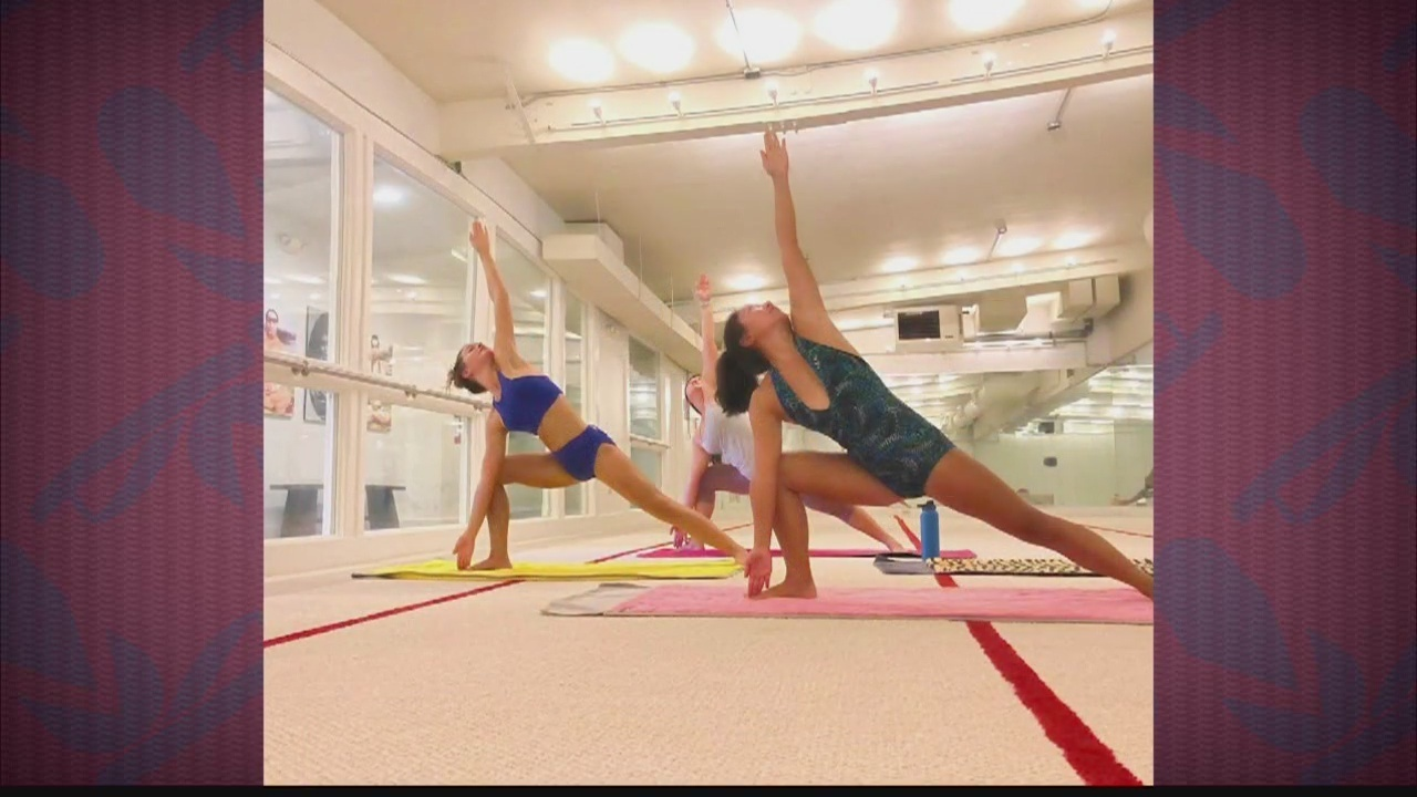 Jump start your new year fitness program with yoga