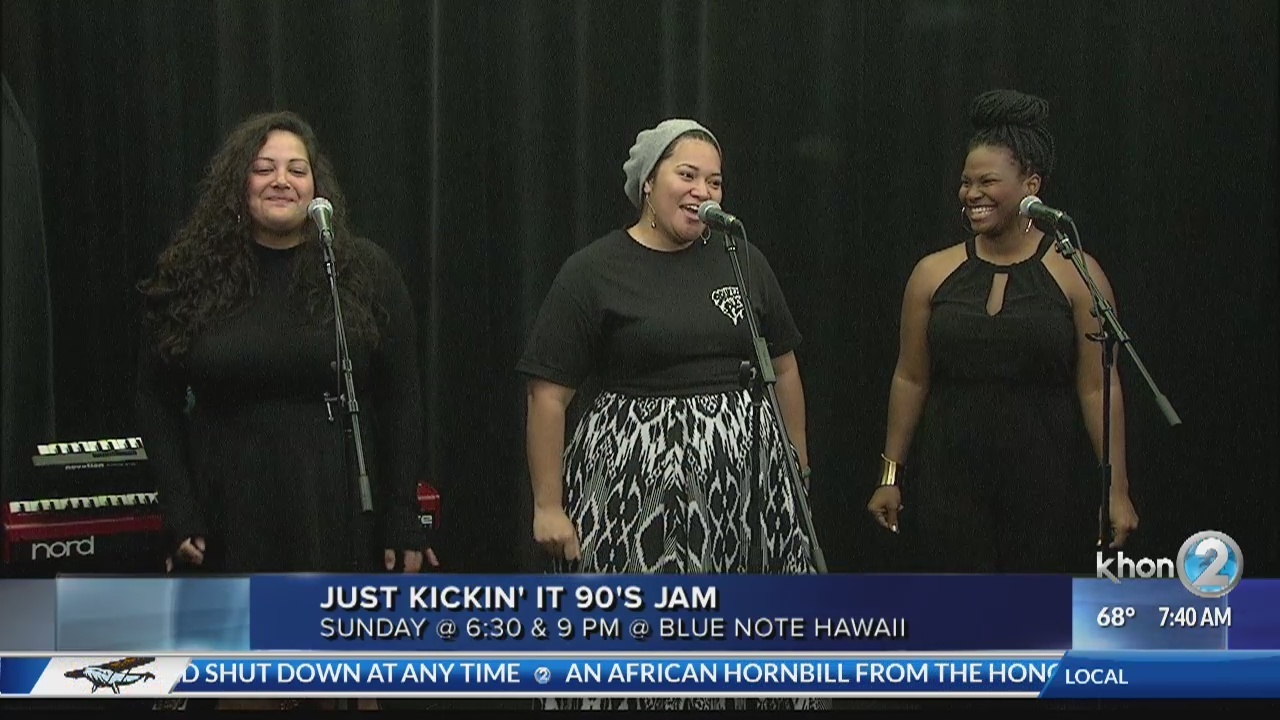 Just Kickin' It 90s Jam at the Blue Note Hawaii