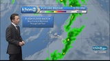 Heavy rain and thunderstorms are possible for Maui County and Hawaii Island through late Tuesday