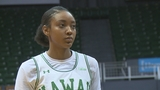 Hawaii's Makenna Woodfolk announces pregnancy, puts basketball career on hold