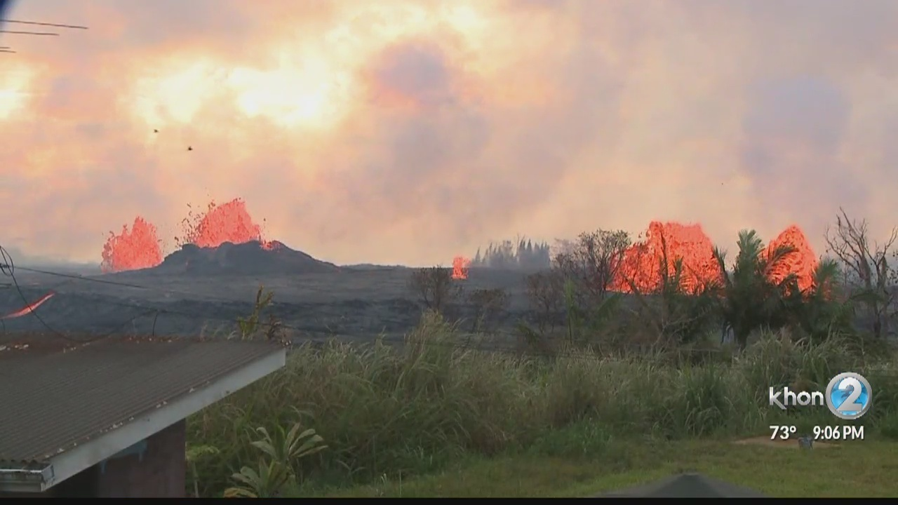 Big Island residents still unable to access properties after Kilauea eruption