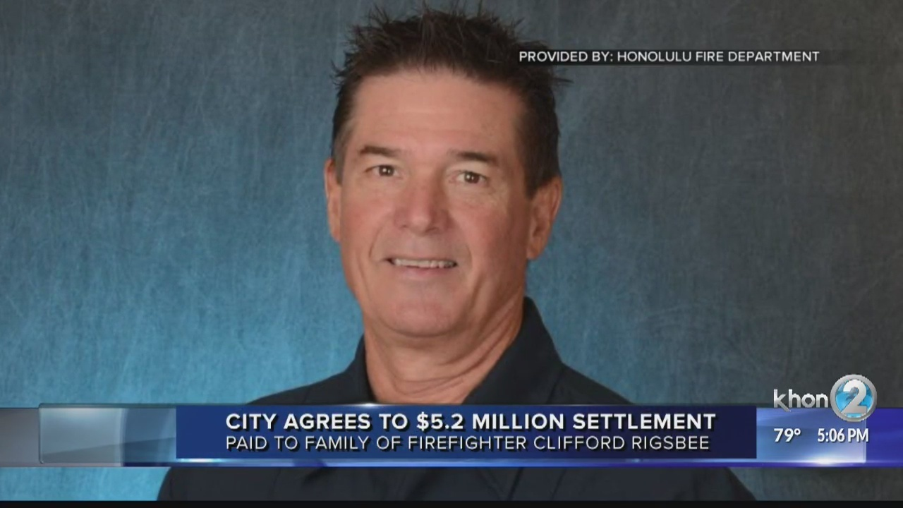 City to pay settlement to the family of firefighter who died during training exercise