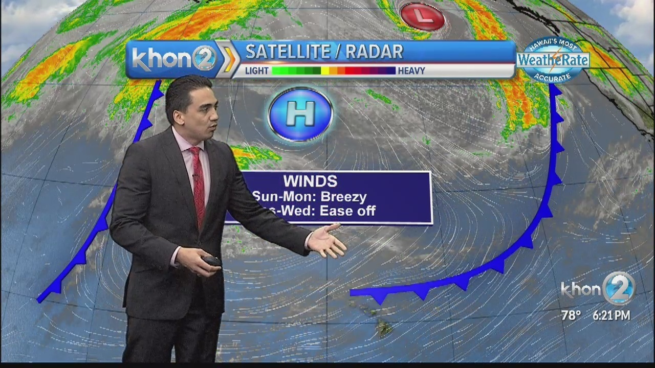 Lingering cold front to dampen start of new week