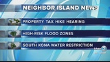 4pm News link: Maui County property tax rate hearing Wednesday