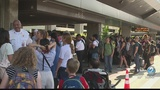 Passengers caught up in airport delay say they want to see changes
